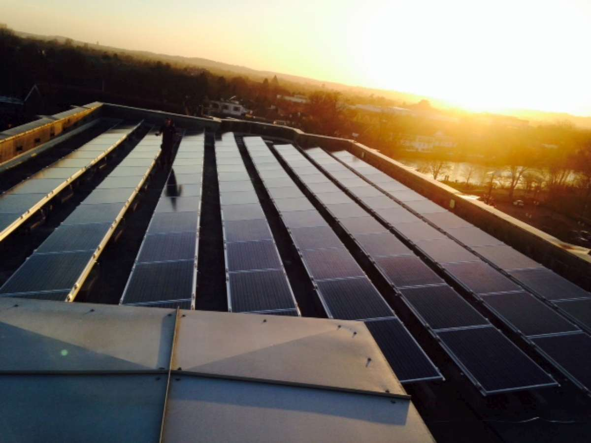 Fitting solar on commercial premises